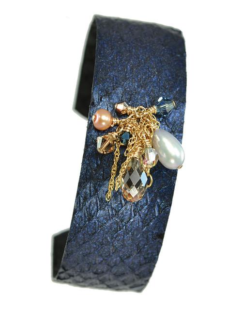 Skuggi Bracelet - Blue