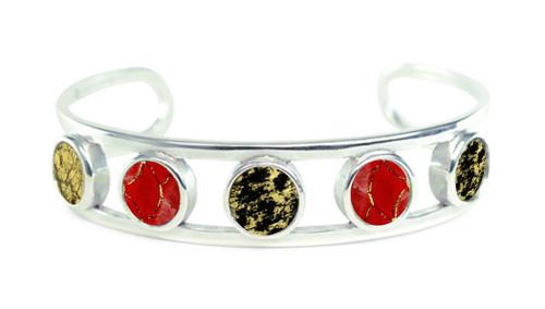 Grenivik Bracelet - Red Tilapia