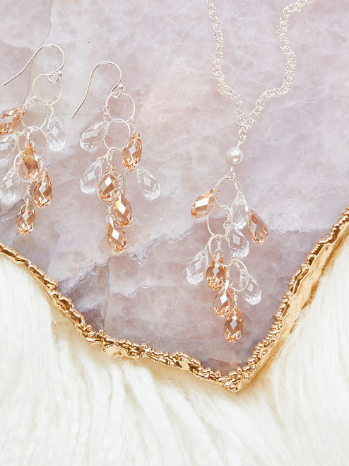 Elkington Necklace & Elkington Earrings, Silver