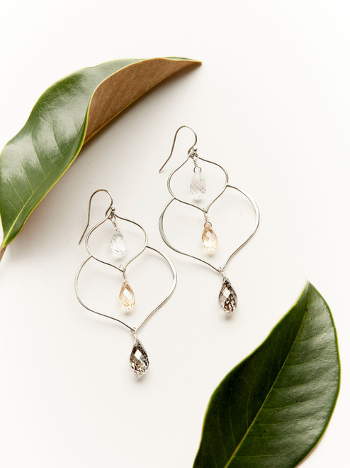 Silver Madrid Earrings