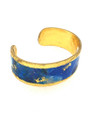 Italian Hand-gilding 22K Gold with Enamel