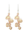 Huahine Earrings - Champagne