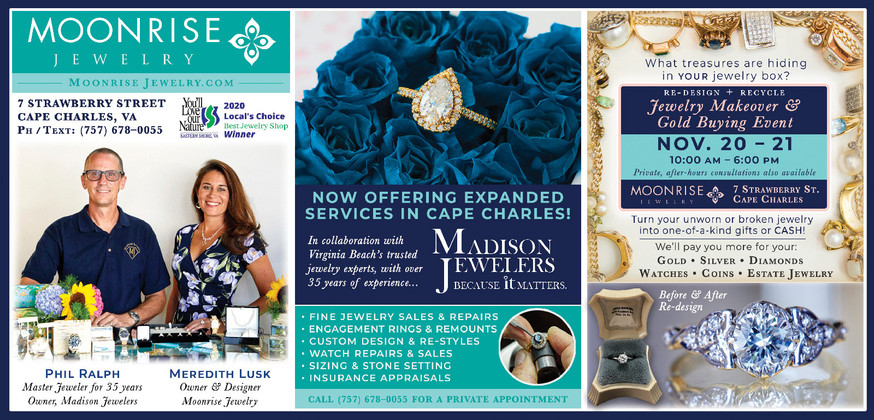 Jewelry Makeover & Gold Buying Event ~ NOV. 20 – 21,  10:00 AM – 6:00 PM