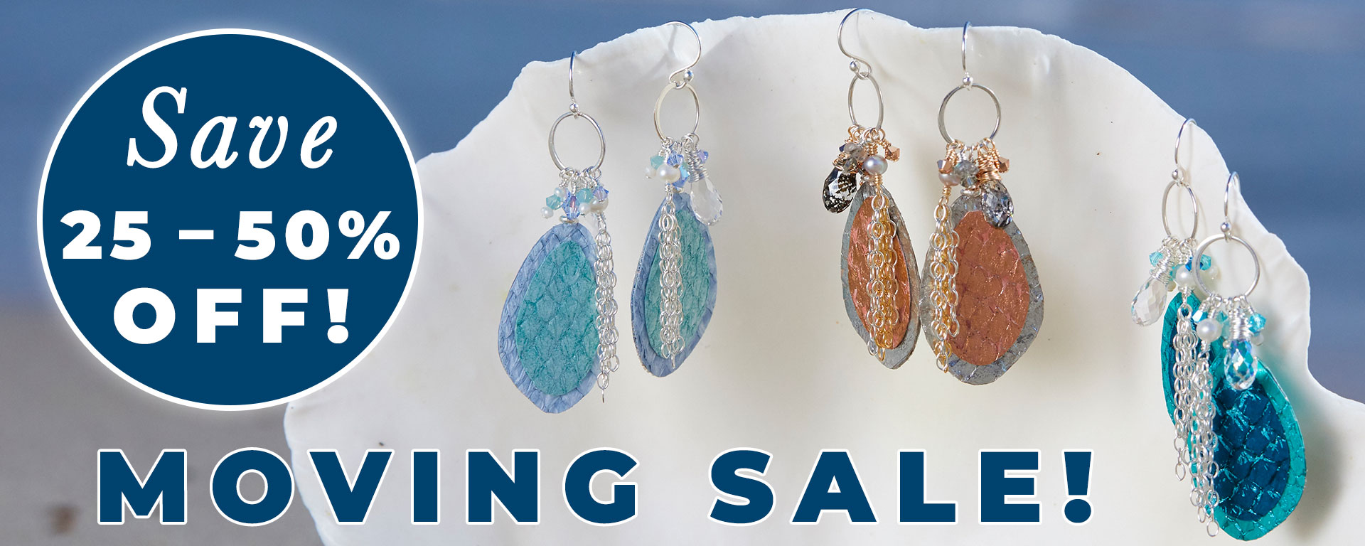 Moving Sale! 25%-50% Off!