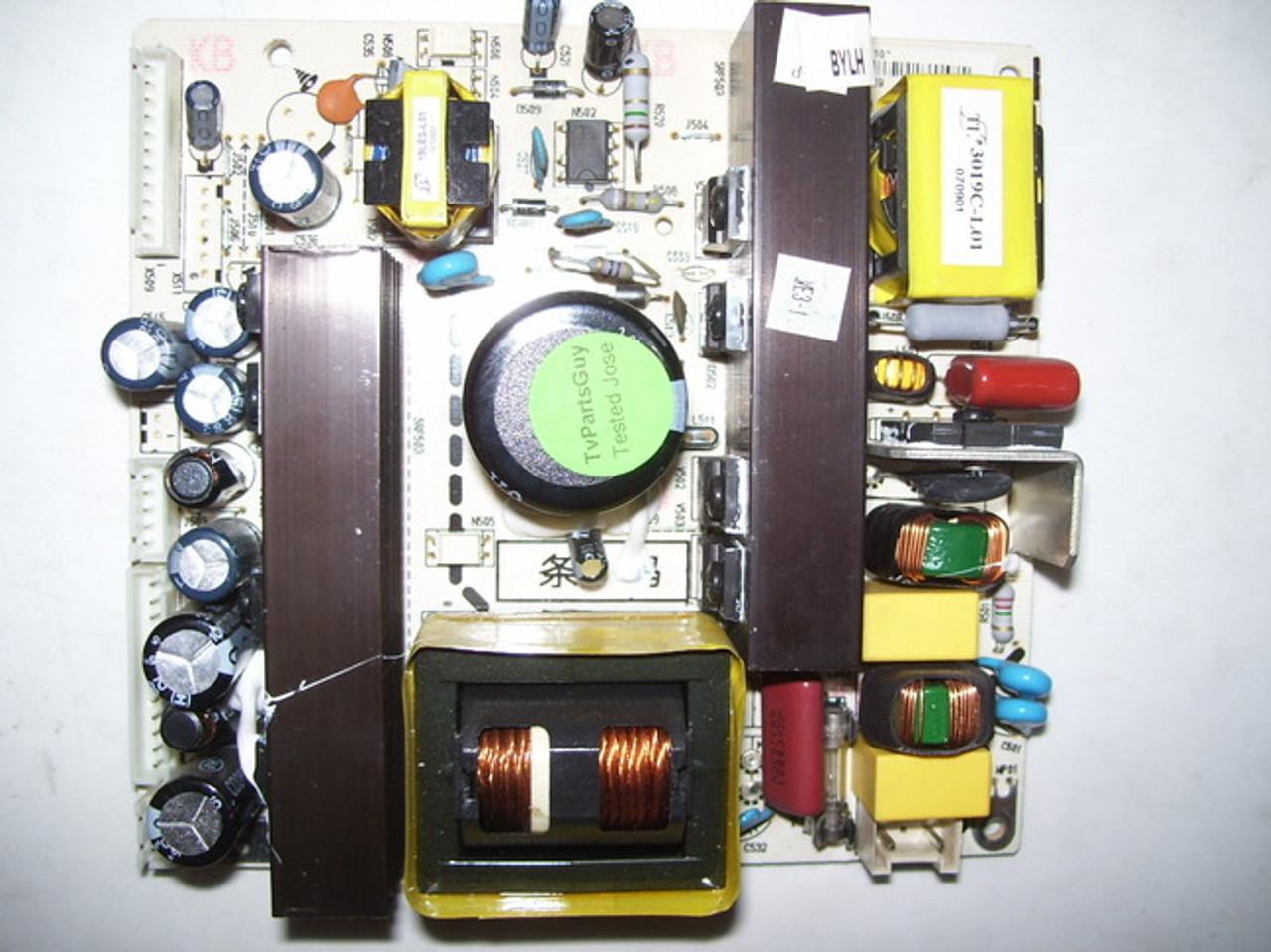 INSIGNIA POWER SUPPLY BOARD 782.27HU25-200C / 6HA0082010