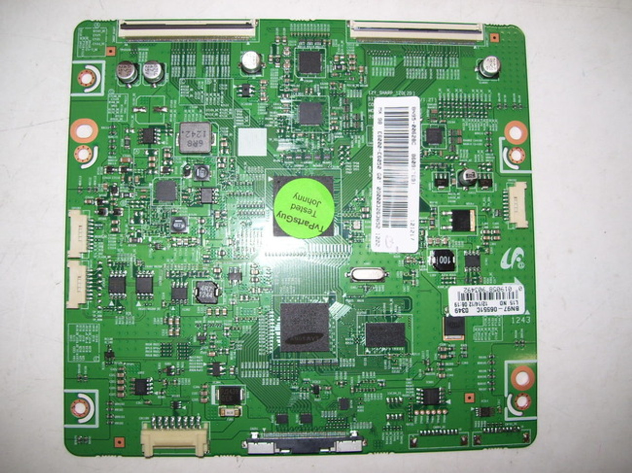 SAMSUNG UN60EH6002FXZA T-CON BOARD BN41-01815A / BN97-06551C / BN95-00628C