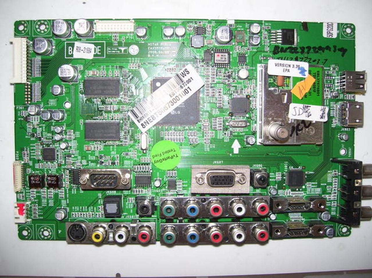 LG 50PG20C-UA MAIN BOARD EAX39704805(2) / EBT50673001