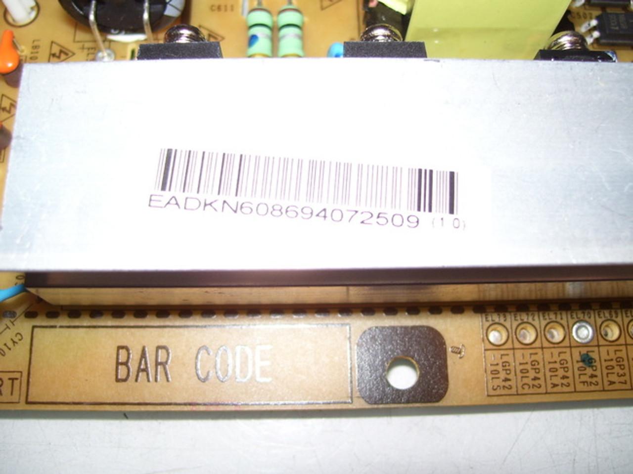 LG 42 42LK450-UB EAY60869407 Power Supply Board Unit Motherboard