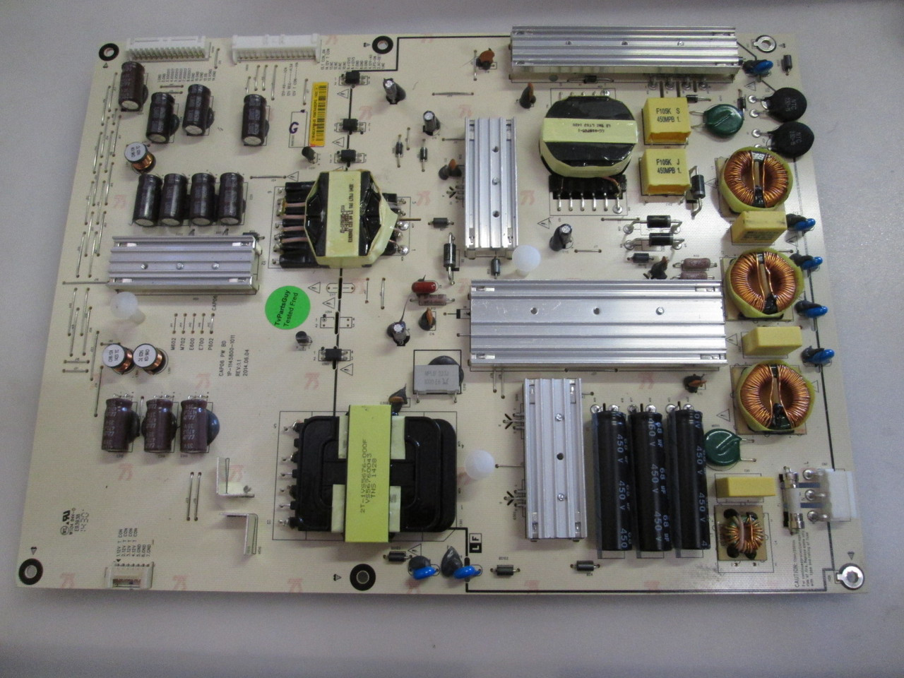 60E510E Power Supply Board 168P-P6L012-00 5800-P6L012-0020