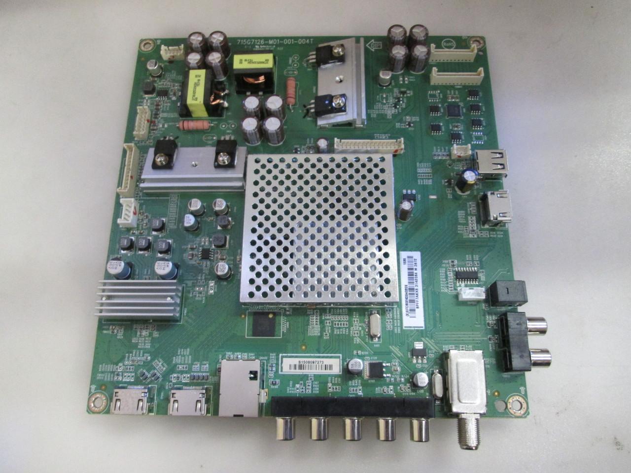 VIZIO E55-C1 MAIN BOARD 715G7126-M01-000-004K POWER SUPPLY...
