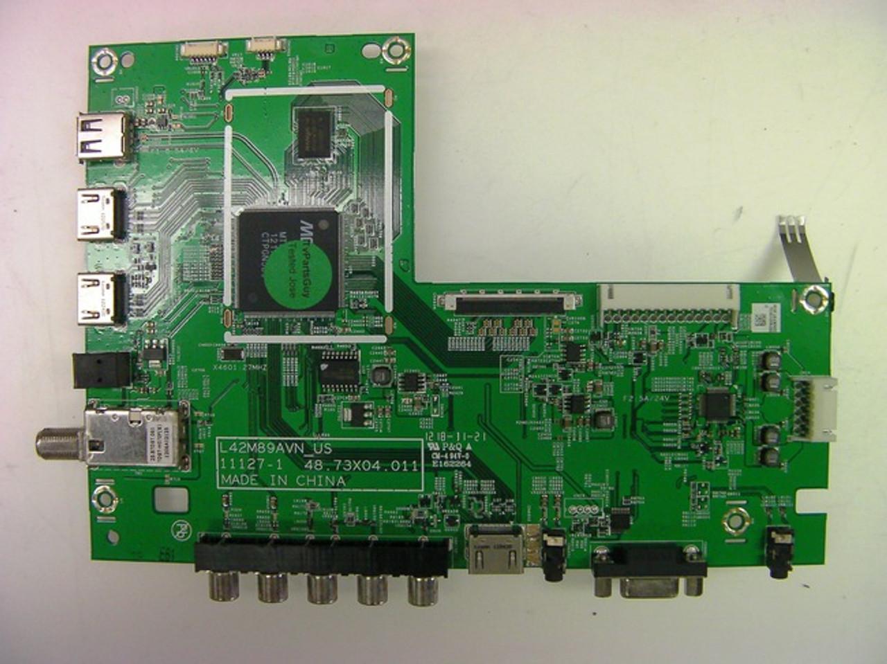 VIZIO, E500AR, MAIN BOARD, 55.74X01.001, 48.73X04.011