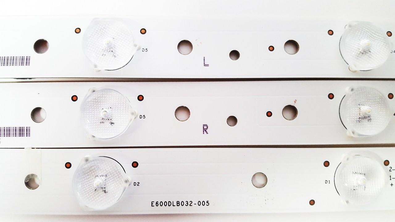 Vizio M60-C3 Original LED Backlight Strips Complete Set E600DLB032-005