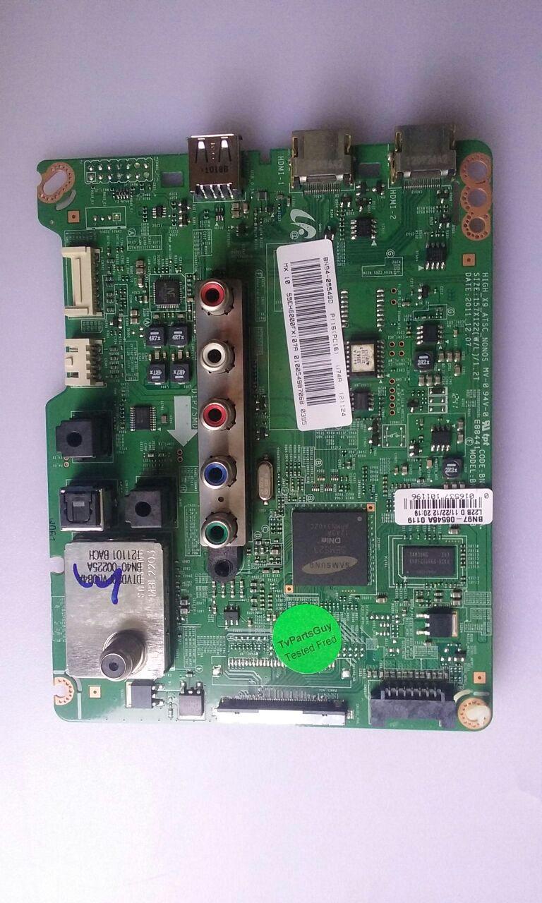 """TV LED 55"""" ,SAMSUNG, UN55EH600F, MAIN BOARD, BN94-055490, BN41-01778A/BN97-065464"""
