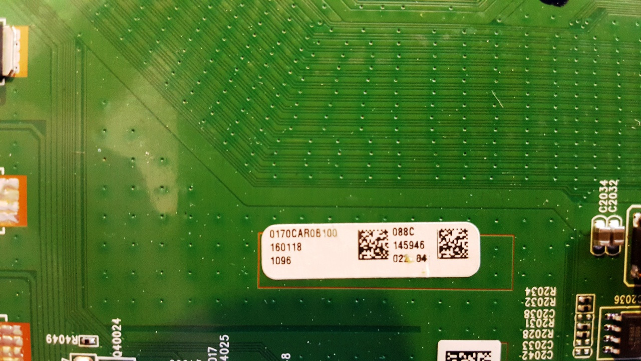VIZIO D70-D3 MAIN BOARD 1P-0147C00-2010 / 0170CAR0B100