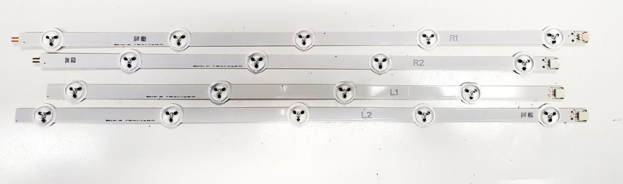 Vizio E470i-A0 LED Light Strips Mini set of 4 6916L-1174A / 6916L-1175A / 6916L-1176A / 6916-1177A