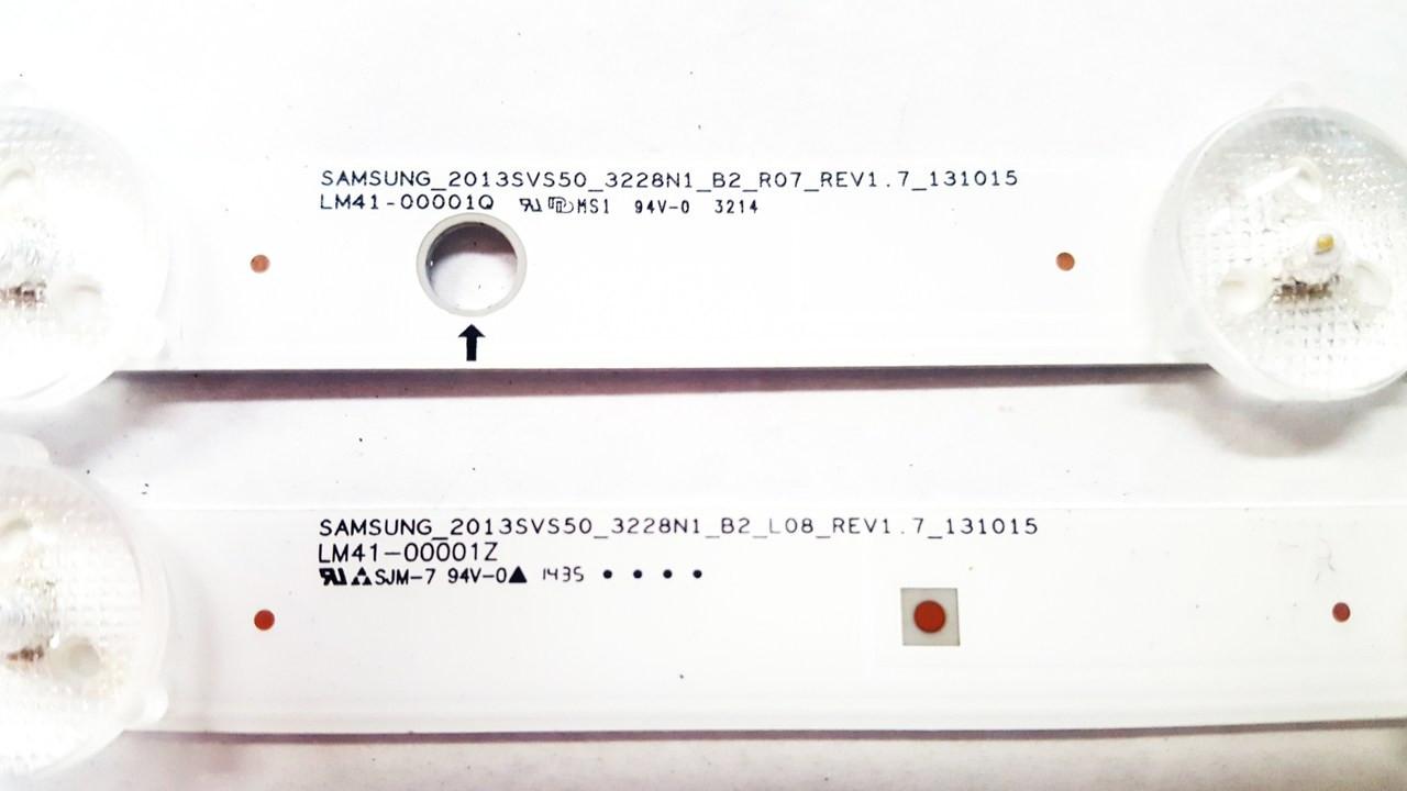"""SAMSUNG 50"""" LED LIGHT STRIPS SET BN96-35206A & BN96-35207A"""