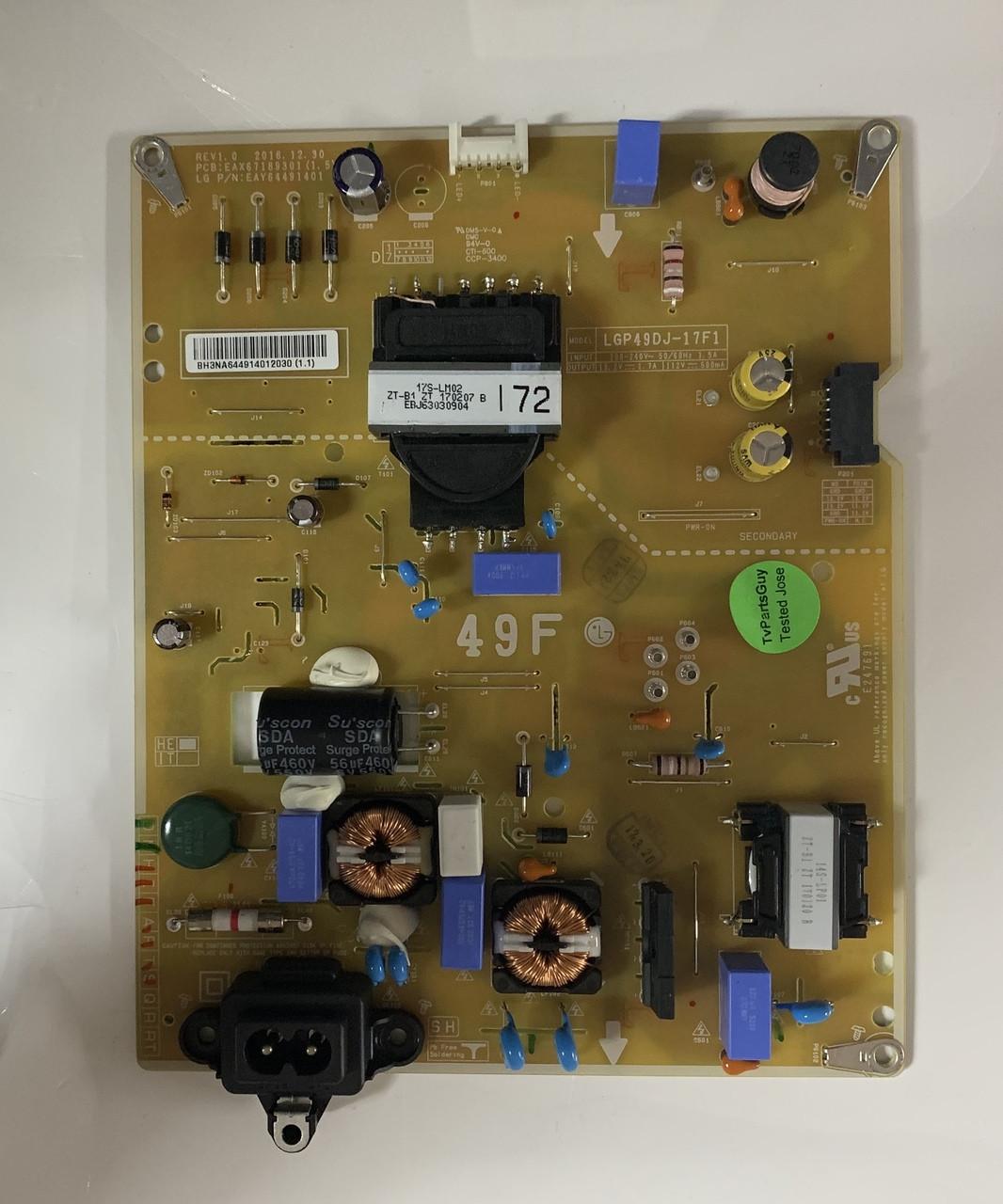LG EAY64491401 Power Supply