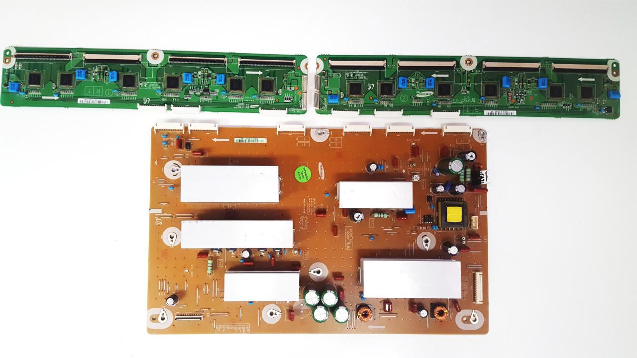 Samsung PN60E550D1F Y-Sustain & Buffer board set LJ41-10162A / LJ92-01859A & LJ41-10175A / LJ92-01876B & LJ41-10176A / LJ92-01877B