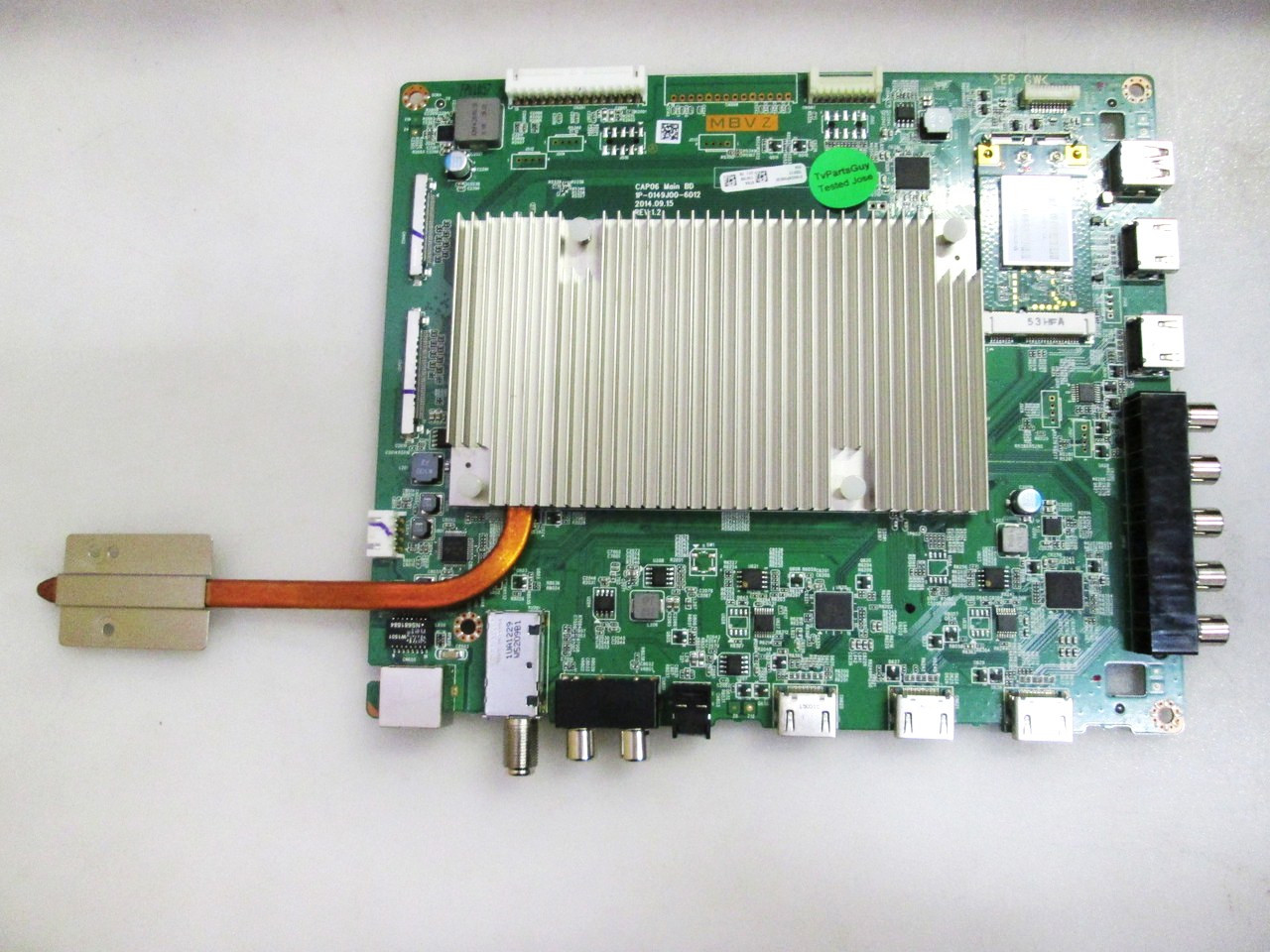 Vizio M60-C3 Main board / Power Supply board / Tcon board & LED Driver KIT 0160CAP09E00 / 09-60CAP090-00 / RUNTK5556TP / 1P-114BJ00-2011