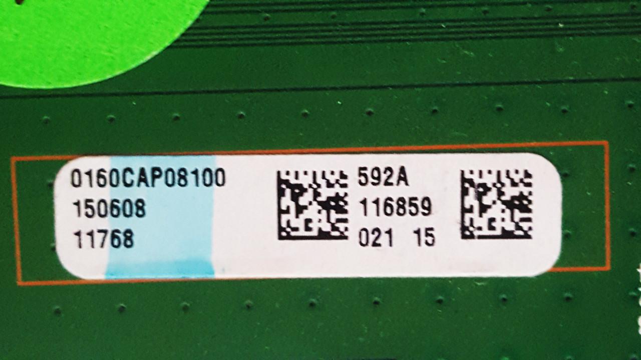 Vizio E60-C3 Main board / Power Supply board & Tcon board KIT 0160CAP08100 / 09-60CAP080-01 / RUNTK5489TP Serial# LFTRRZAR / LFTRRZAS