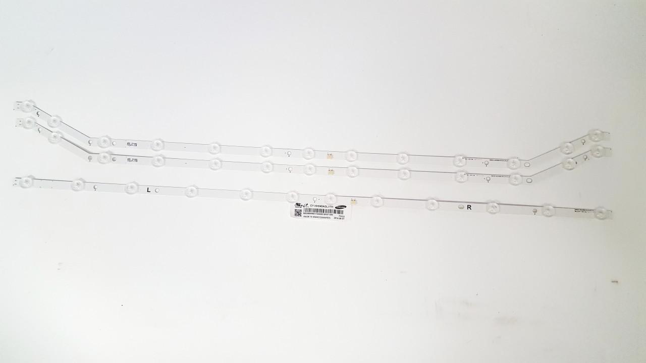 "Samsung 40"" LED Light Strips Complete set of 3 BN96-32767A & BN96-32768A"