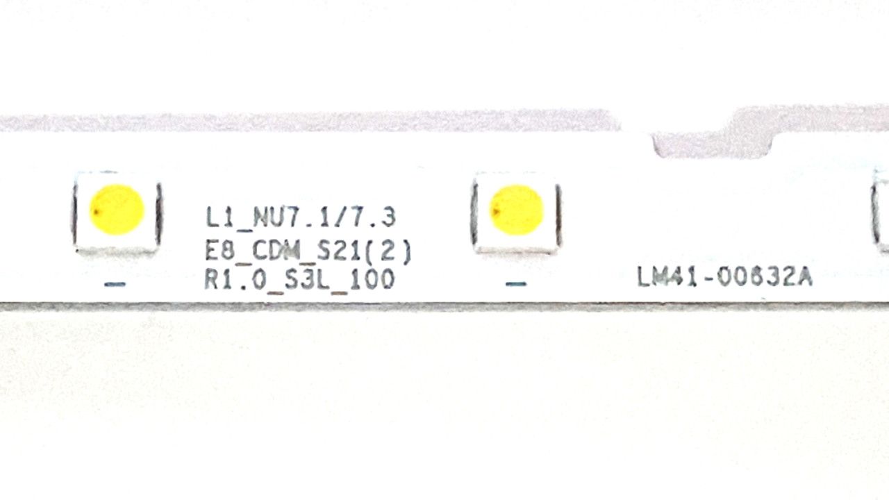 Samsung UN58NU7100  LED Light Strips set of 2 BN96-46866A