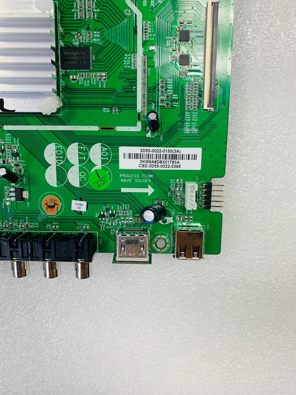 JVC PDPS551 Main board 0171-2271-4973 / 3D55-0022-0150