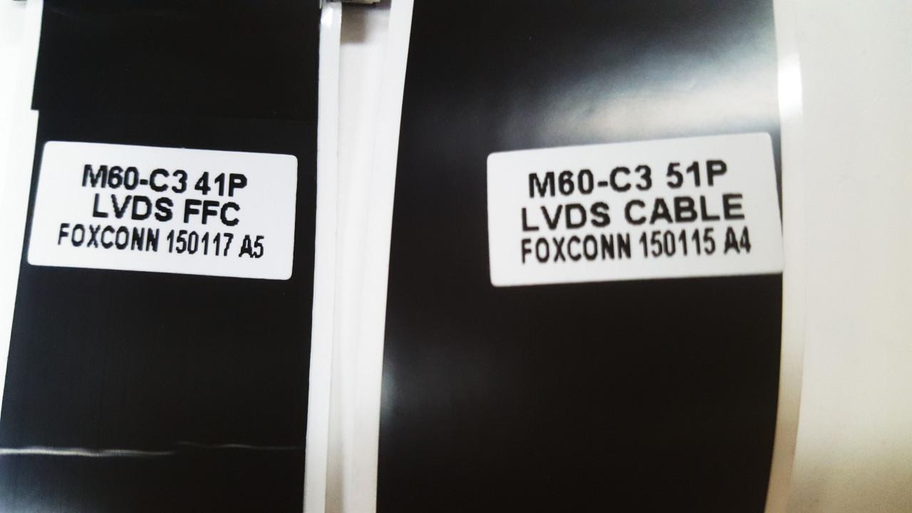 Vizio M60-C3 Main board to Tcon board LVDS cables 150115 & 150117