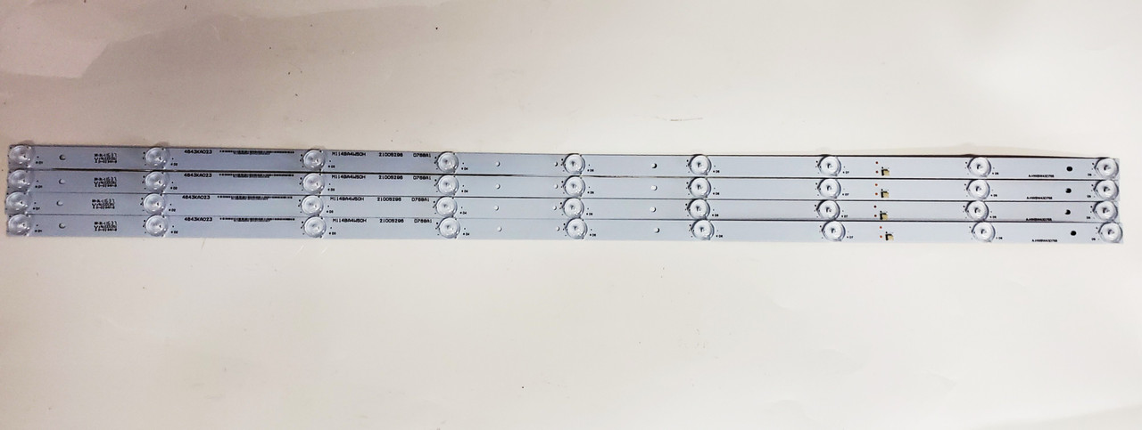Element E4ST4316H LED Light Strips Complete set of 4 A-HWBW43D768