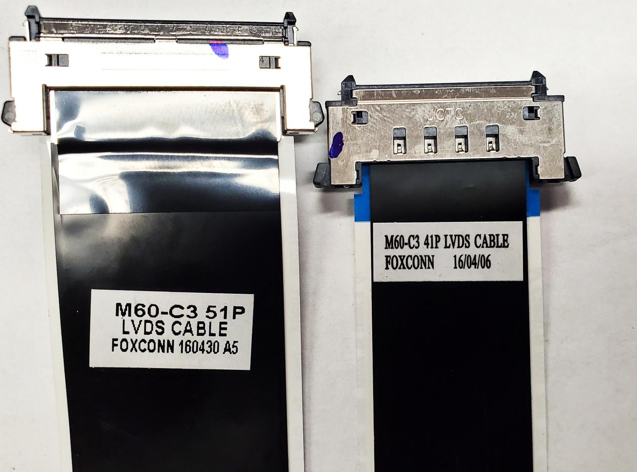 Vizio M60-C3 Main board to Tcon board LVDS cables 160430