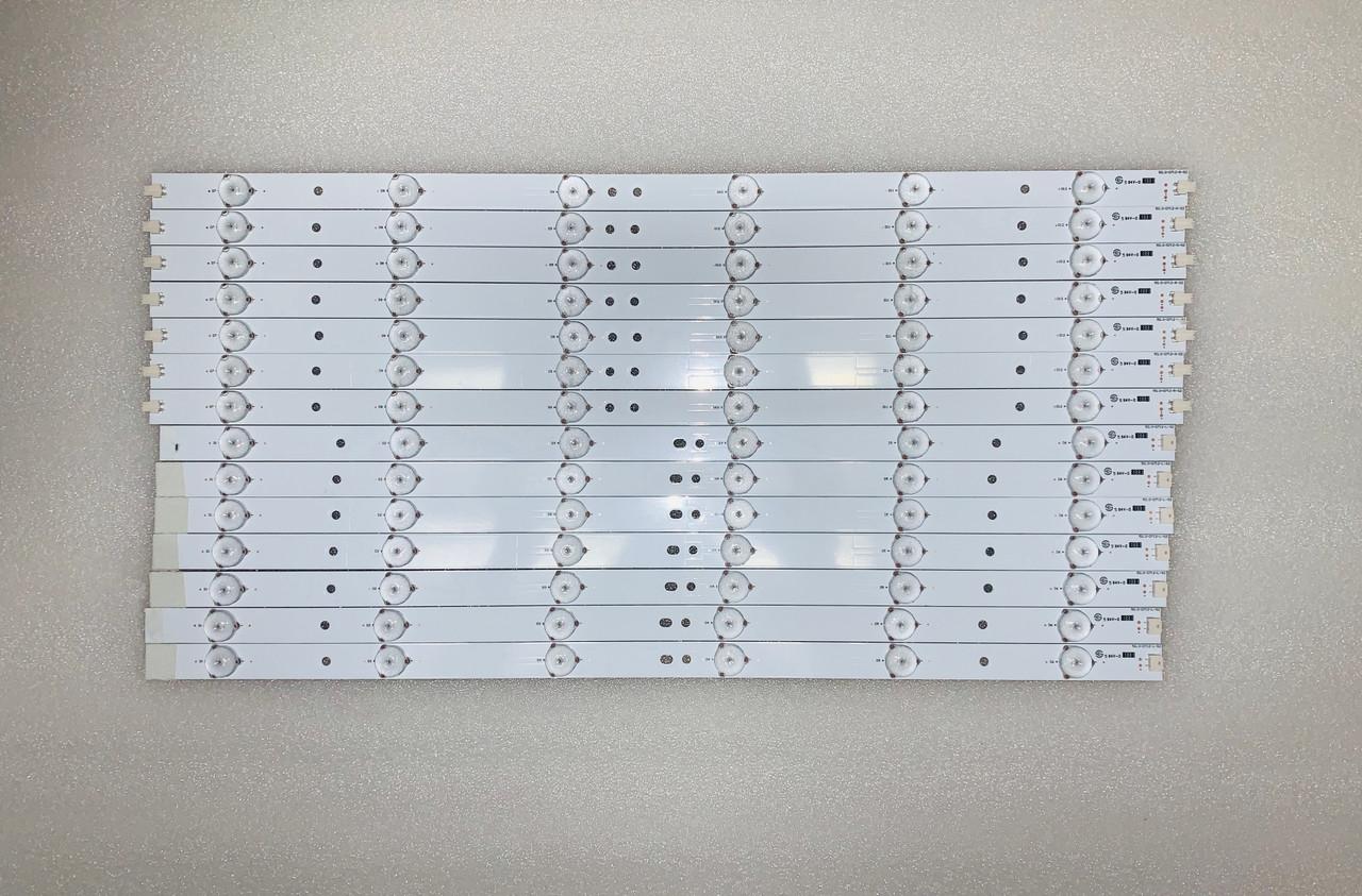 Vizio E500I-B1 LED Light Strips set of 7 50.0-D712-L-S2 / 50.0-D712-R-S2