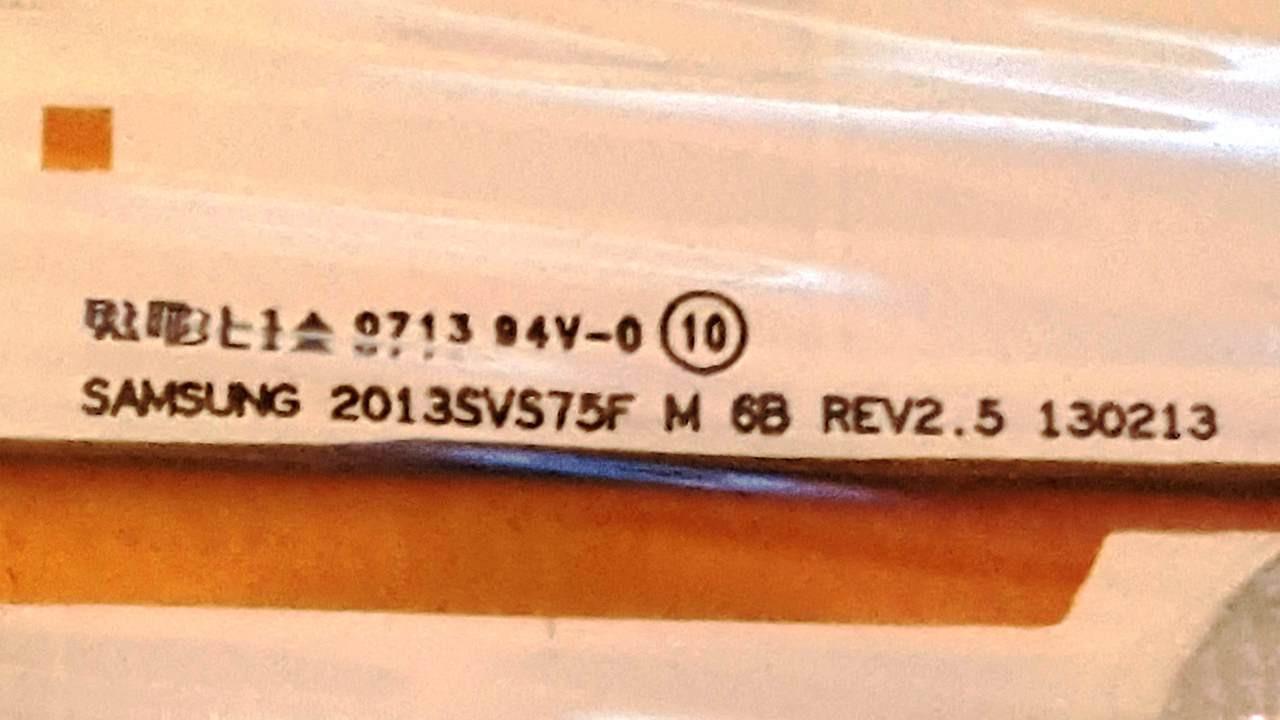 Samsug LED Light Strips Half Set of ( 21 ) BN96-26413A / BN96-26413B / BN96-26413C