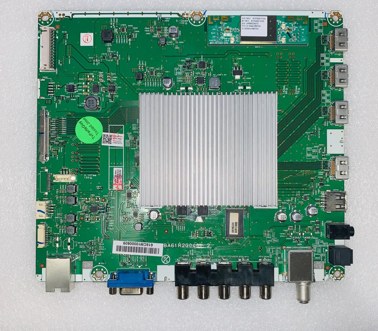 Philips 65PFL6621/F7 Main board BA61R2G04012 / A618C-MMA / A618CUH