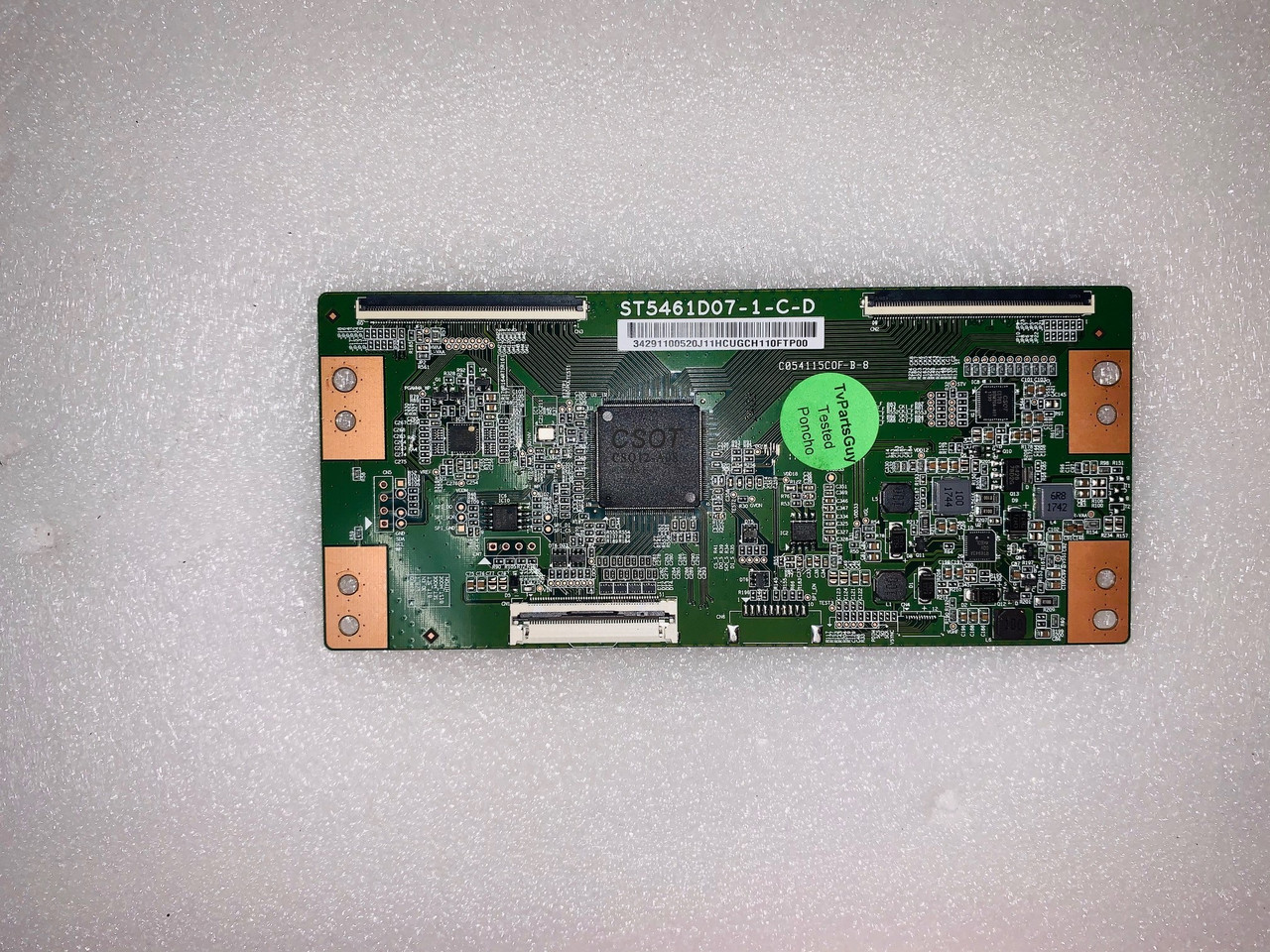 Westinghouse WG55UX4100 Tcon board ST5461D07-1-C-D / 3429110052
