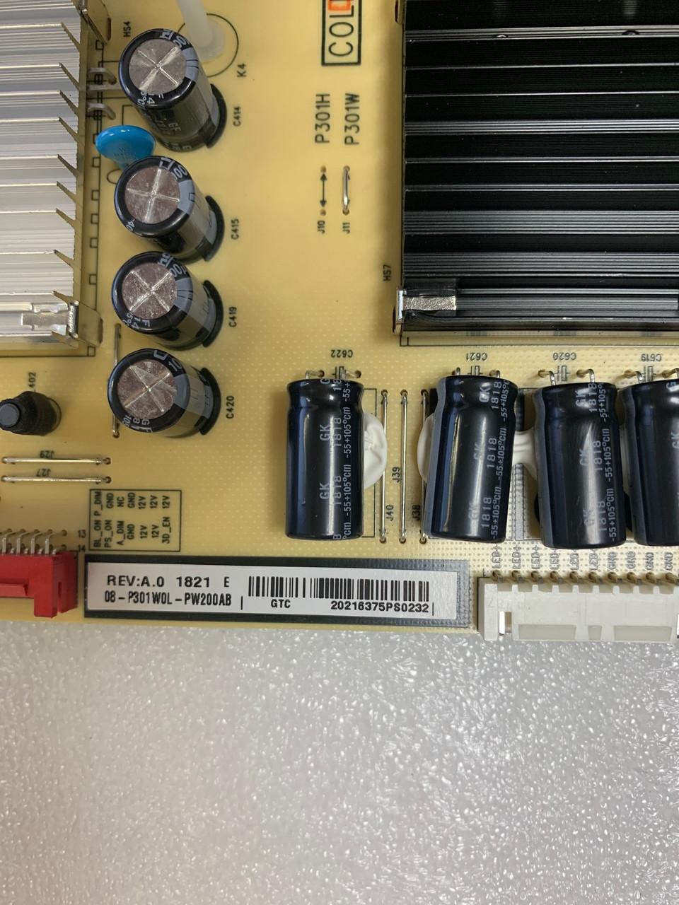 TCL 65R617 Power Supply board 40-P301HL-PWA1CG / 06-P301W0L-PW200AB