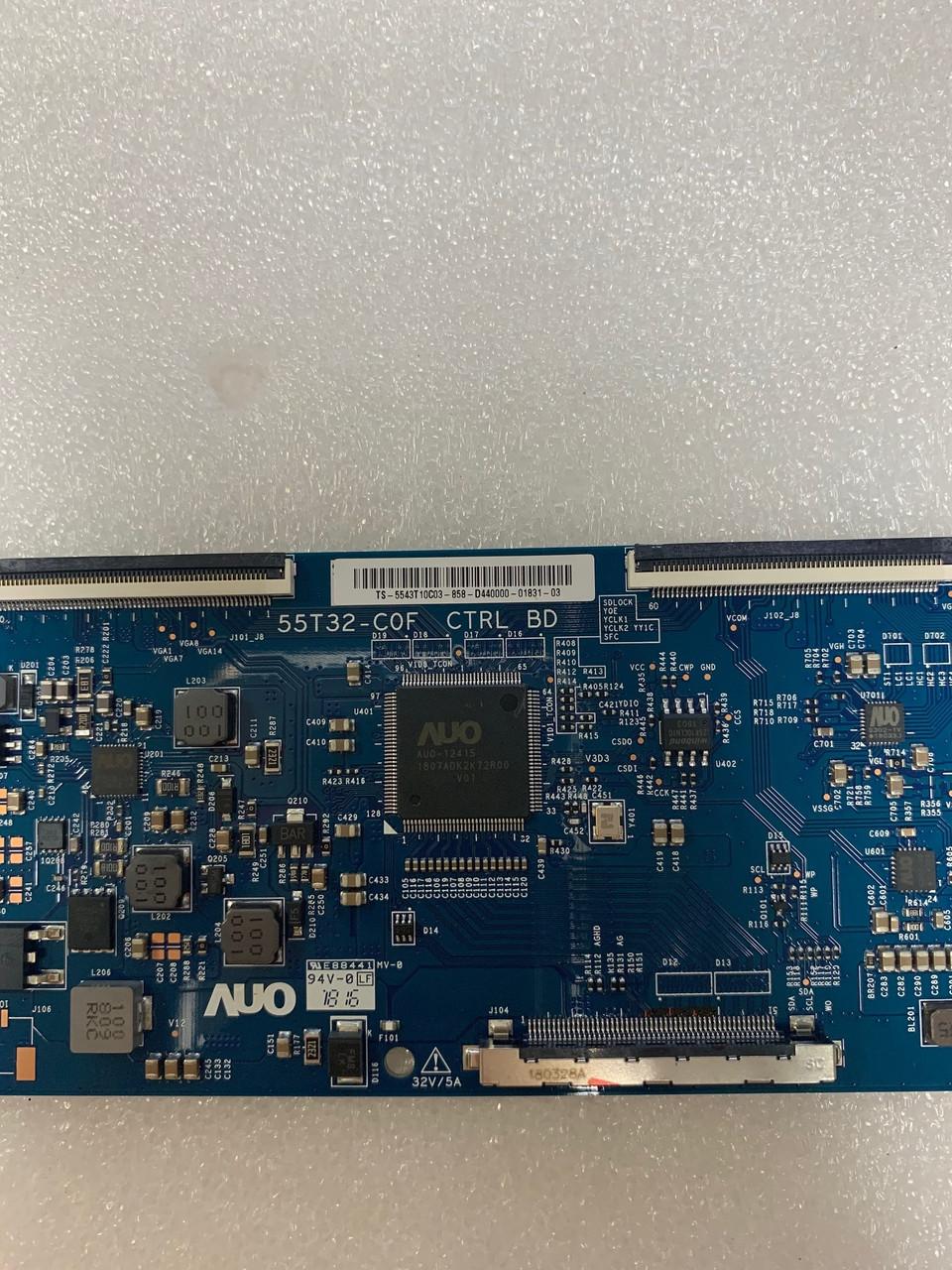 Vizio D43-F1 Tcon board 55T32-C0F / 55.43T10.C03