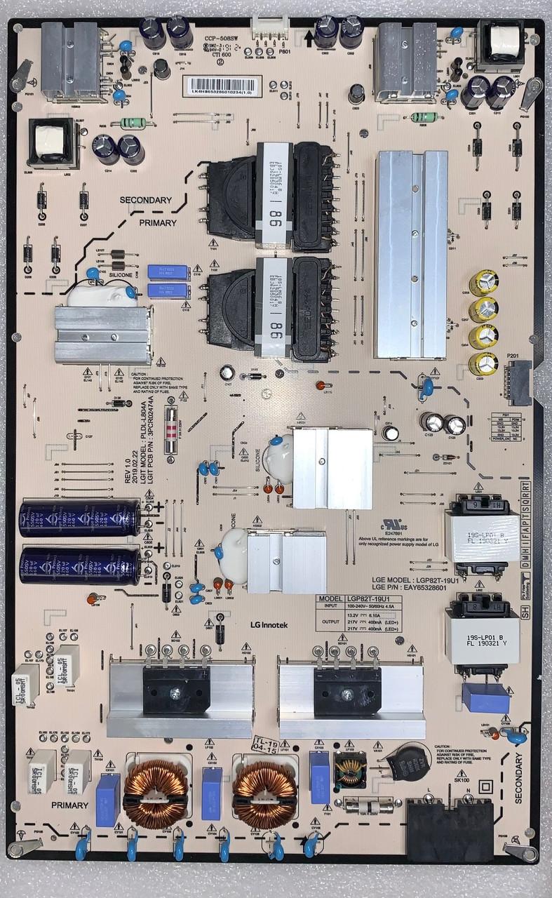 LG 82UM8070PUA.BUSJLJR Power Supply board EAY65328601