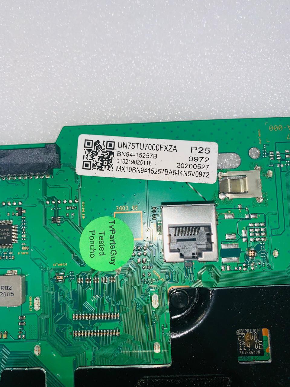 Samsung UN75TU7000F FA01 Main board BN41-02751A / BN97-16648D / BN94-15257B