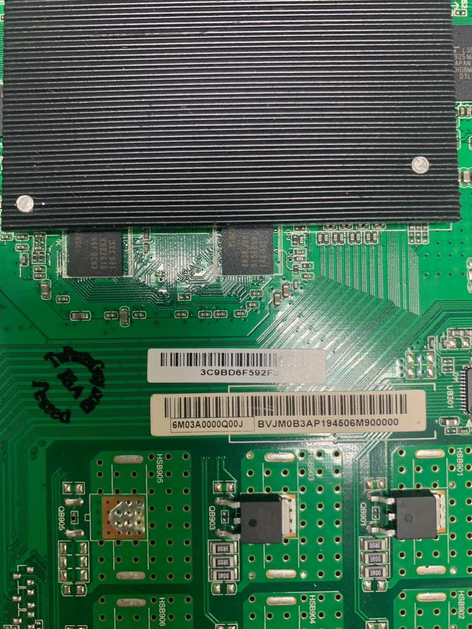 Vizio V405-G9 Main board TE.MT5597.EC762 / 6M03A0000Q00J