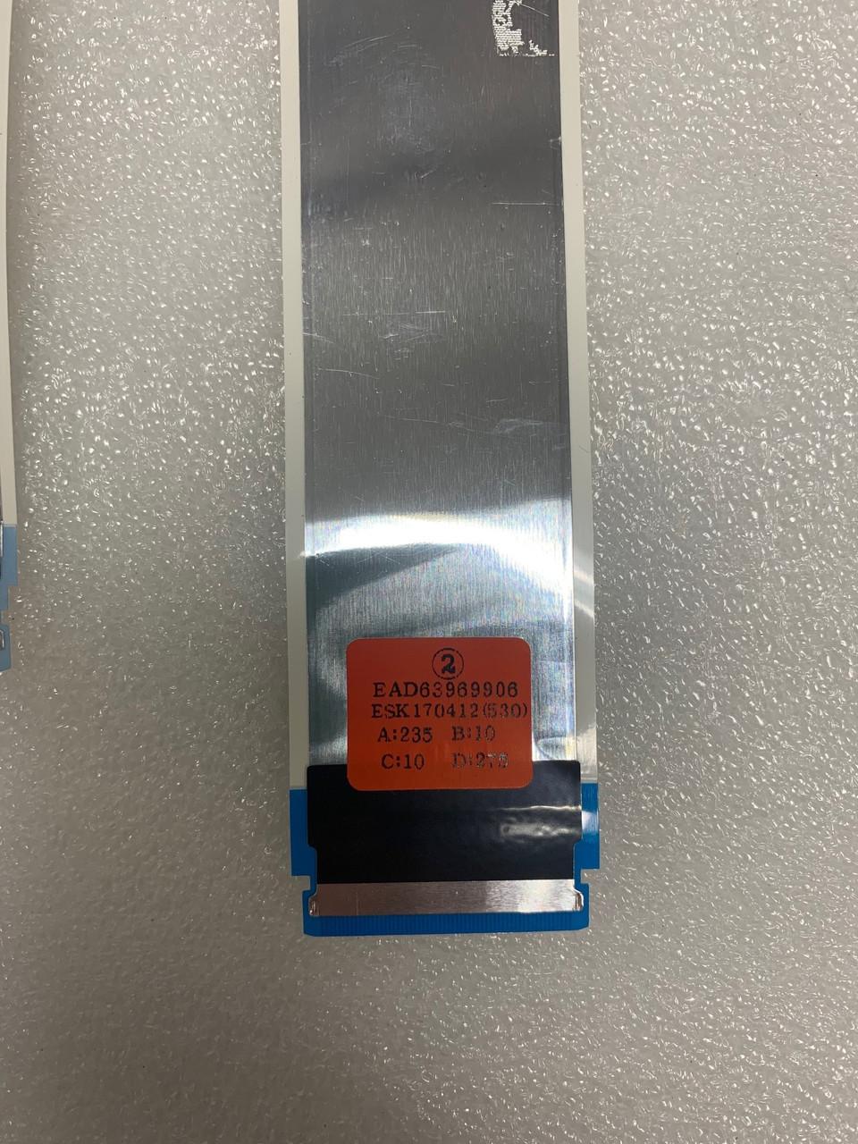 LG 55UV340C-UB LVDS Cable set EAD63969905 & EAD63969906