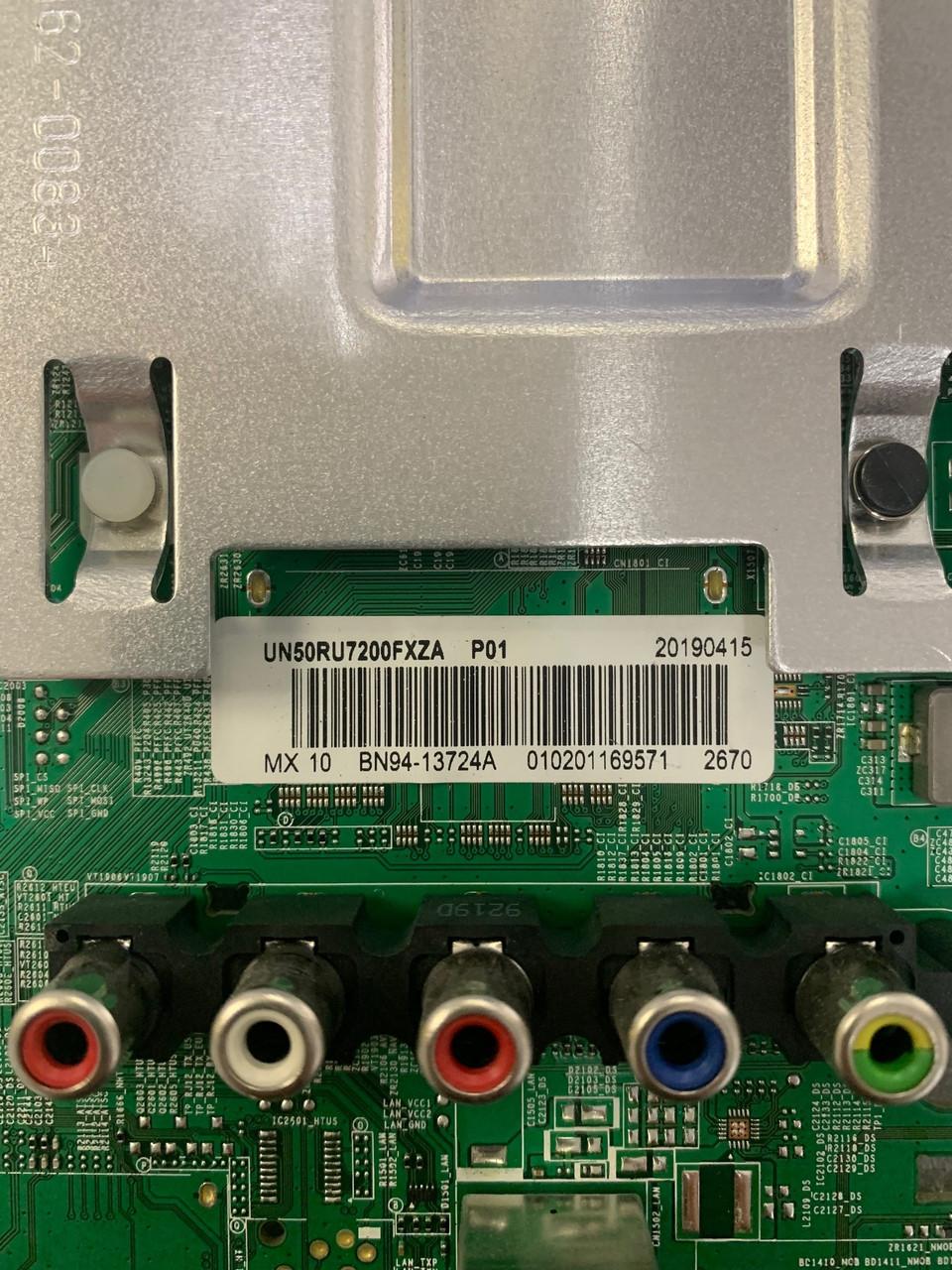 Samsung UN50RU7200F DB01 Main board BN41-02703A / BN97-15888W / BN94-13724A