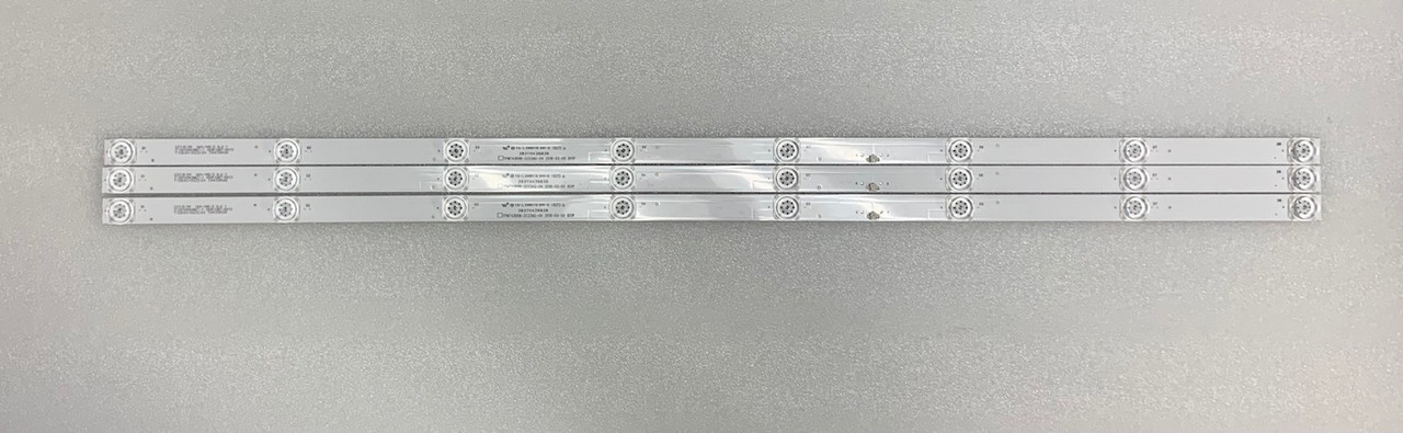 Westinghouse WG43UX4100 LED Light Strips set of 3 303TH430038