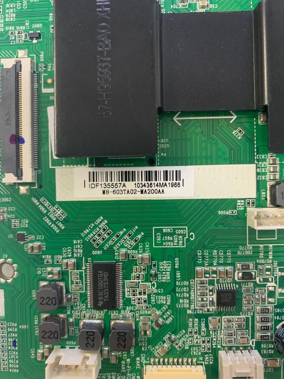 Hitachi 43R51 Main board 40-MT14A3-MAE2HG /  M8-603TA02-MA200AA