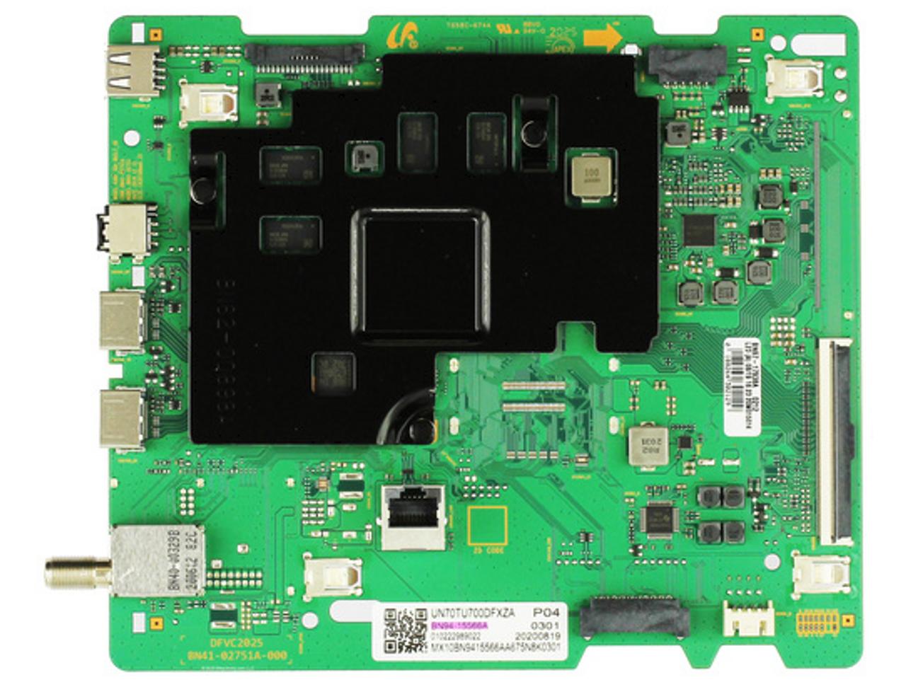 Samsung BN94-15566A Main Board for UN70TU700DFXZA UN70TU7000FXZA (Version GB02)