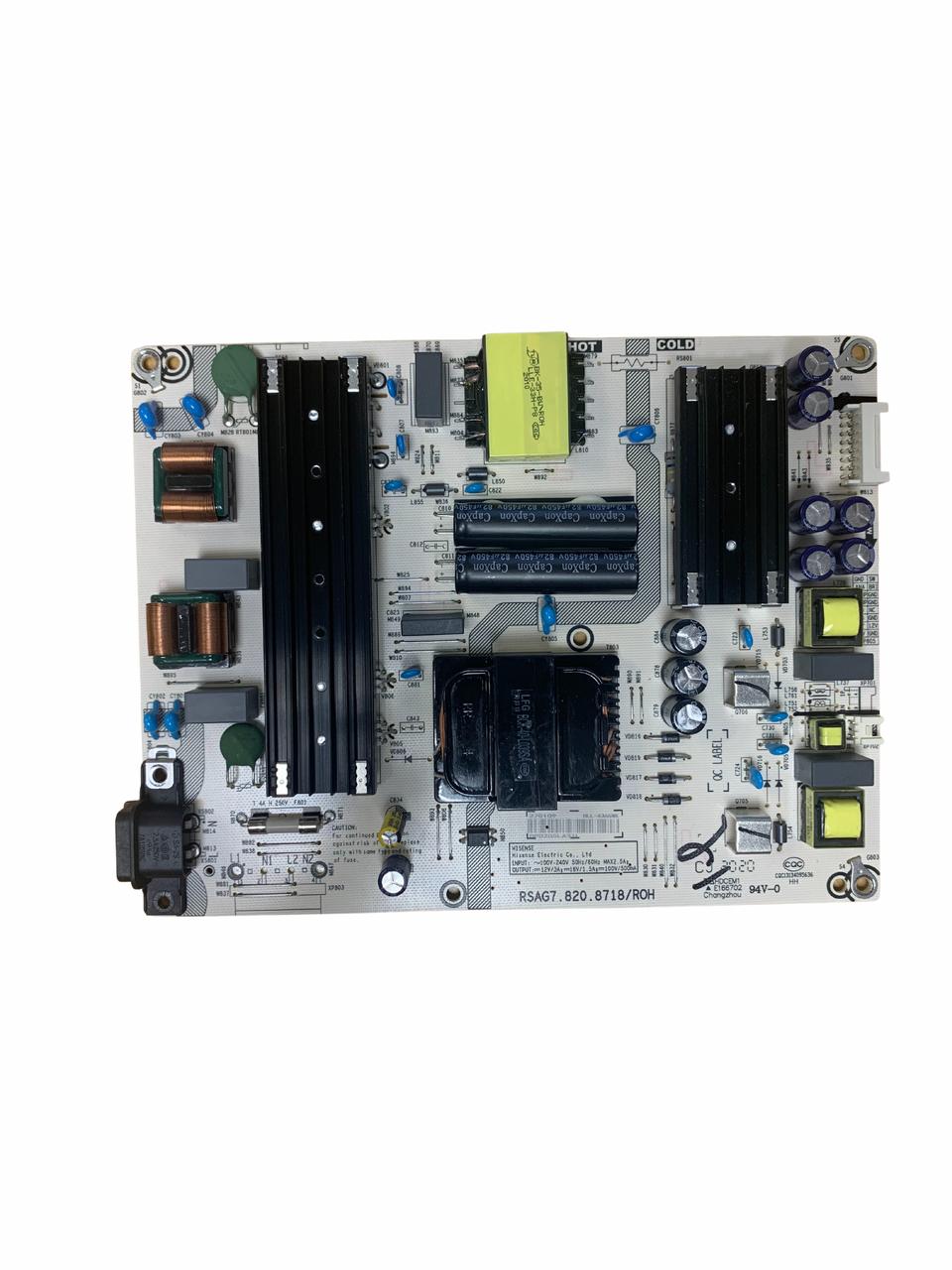 Hisense 65R6E3 Power Supply board RSAG7.820.8718/R0H / 270109