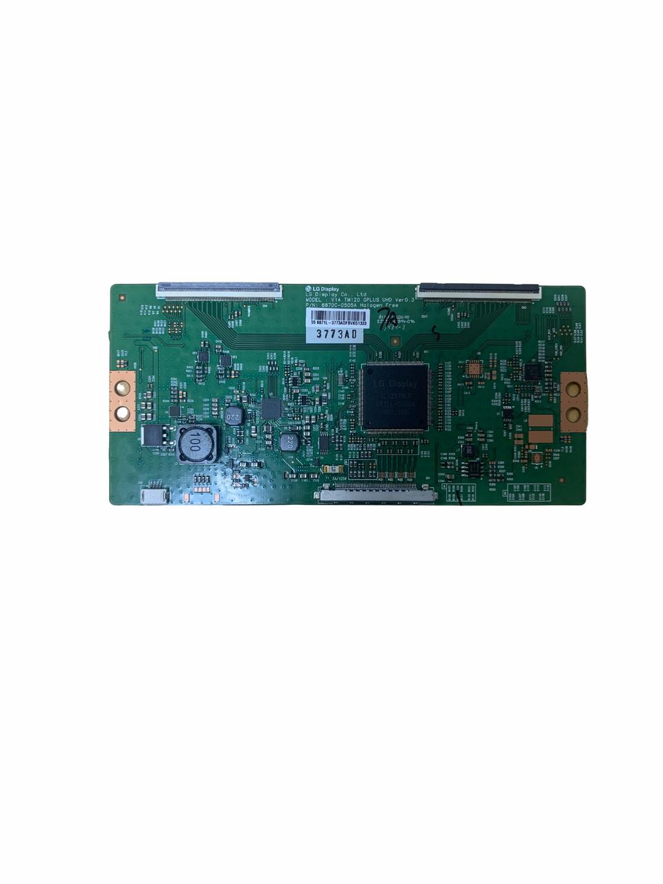 CHANGHONG UD55YC5500UA T-CON BOARD 6870C-0505A / 6871L-3773A