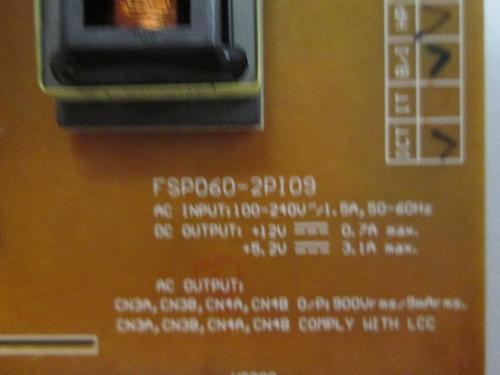 HANNSPREE HSG1064 POWER SUPPLY / BACKLIGHT INVERTER FSP060-2PI09 / 3BS0206712GP / 70-H2512300G090