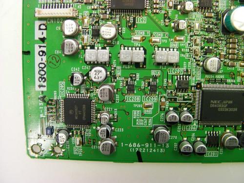 SHARP LC-52D43U MAIN BOARD KD862 / XD862WJ / DUNTKD862FM07