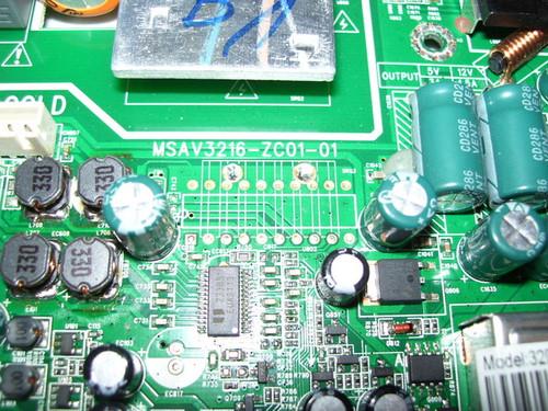 HISENSE 32D12 MAIN BOARD MSAV3216-ZC01-01 / 2C.93018.Q31