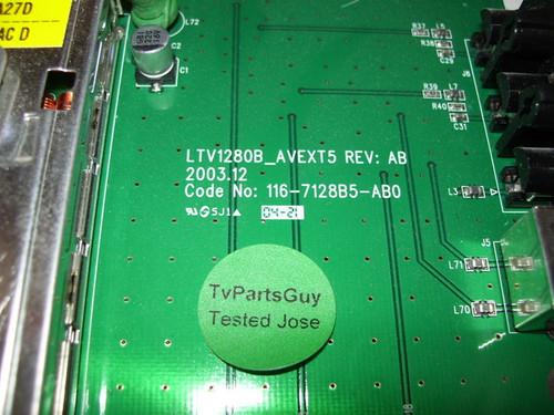 HYUNDAI HQL260WR TUNER BOARD LTV1280B_AVEXT5 / 116-7128B5-AB0